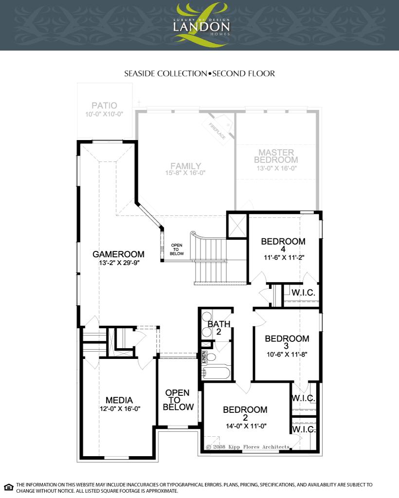 Landon homes seaside collection lexington country for Landon homes floor plans