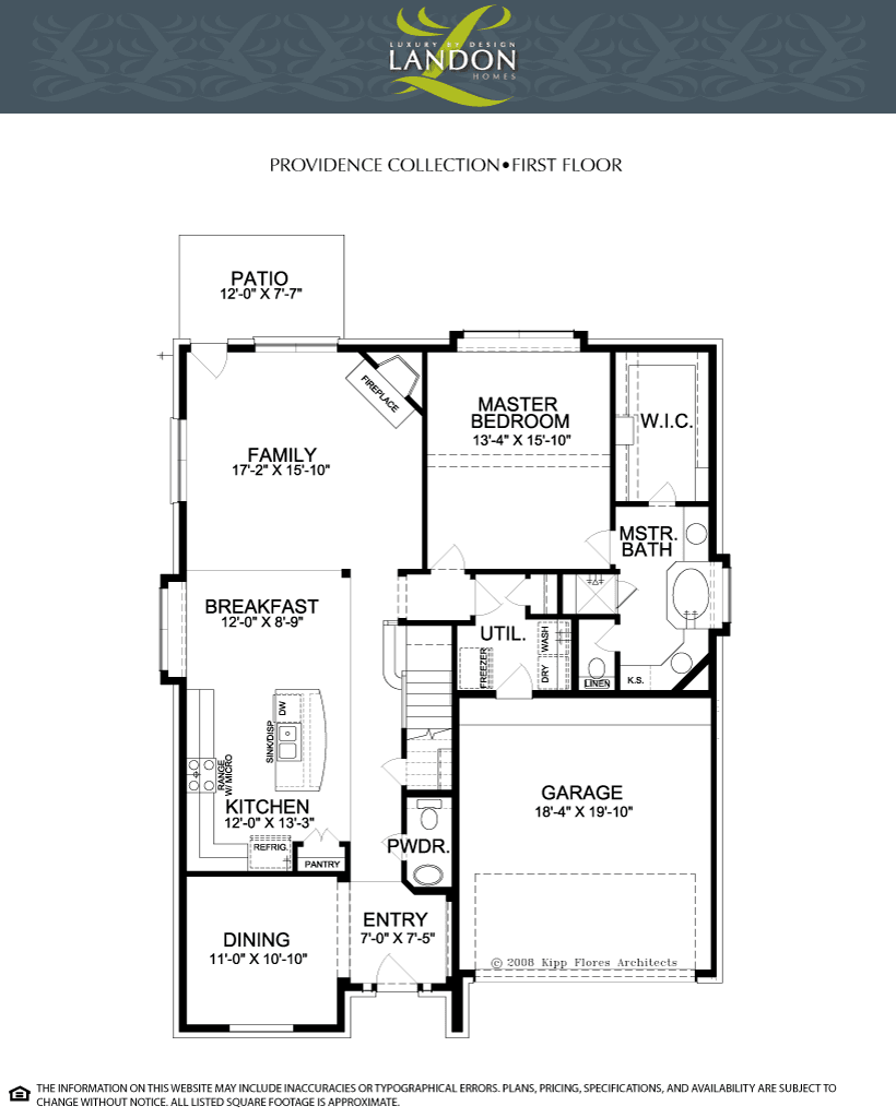Landon Homes Providence Collection The Enclave At