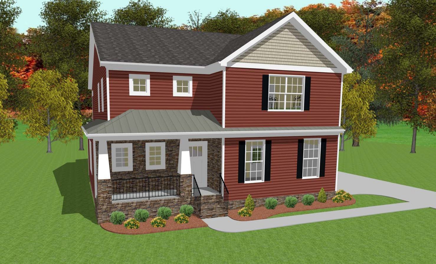 Single Family for Active at The Oaks At Fenton Mill - Amaryllis 101 Marks Pond Way Williamsburg, Virginia 23188 United States