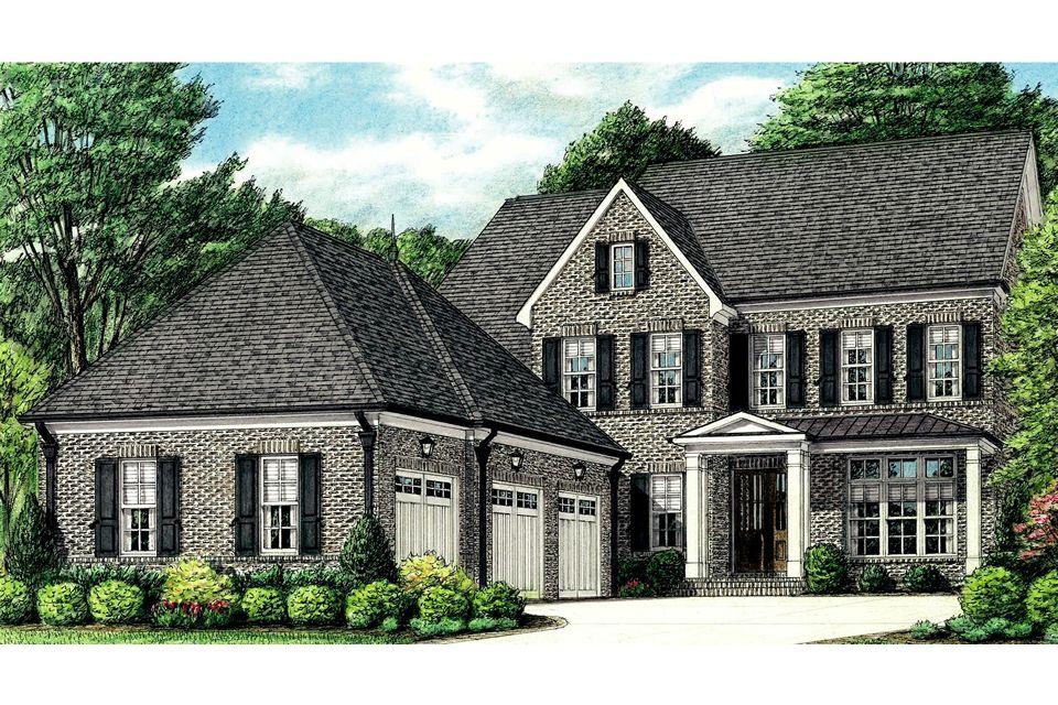 单亲家庭 为 销售 在 Somerset - York 7839 Sophie Lane Germantown, Tennessee 38138 United States
