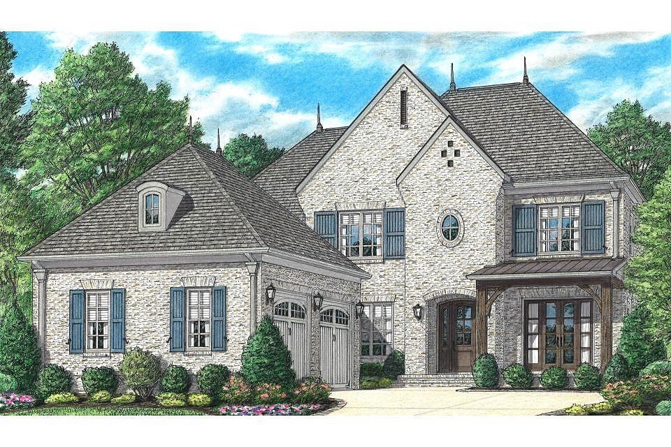 单亲家庭 为 销售 在 Somerset - Rosemont 7839 Sophie Lane Germantown, Tennessee 38138 United States