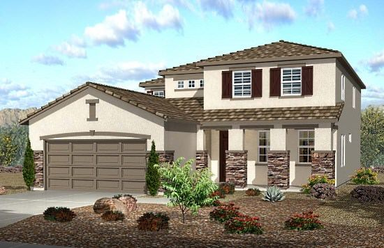 Single Family for Sale at Springfield - Residence 2430 13202 Monte Largo Ln. Victorville, California 92394 United States