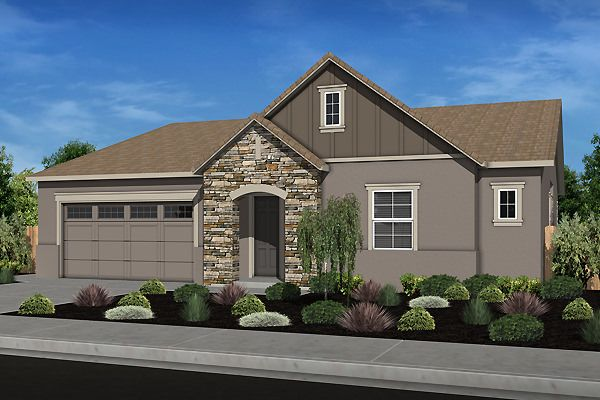 Single Family for Active at Serenity - Residence 5 1534 Santana Ranch Drive Hollister, California 95023 United States