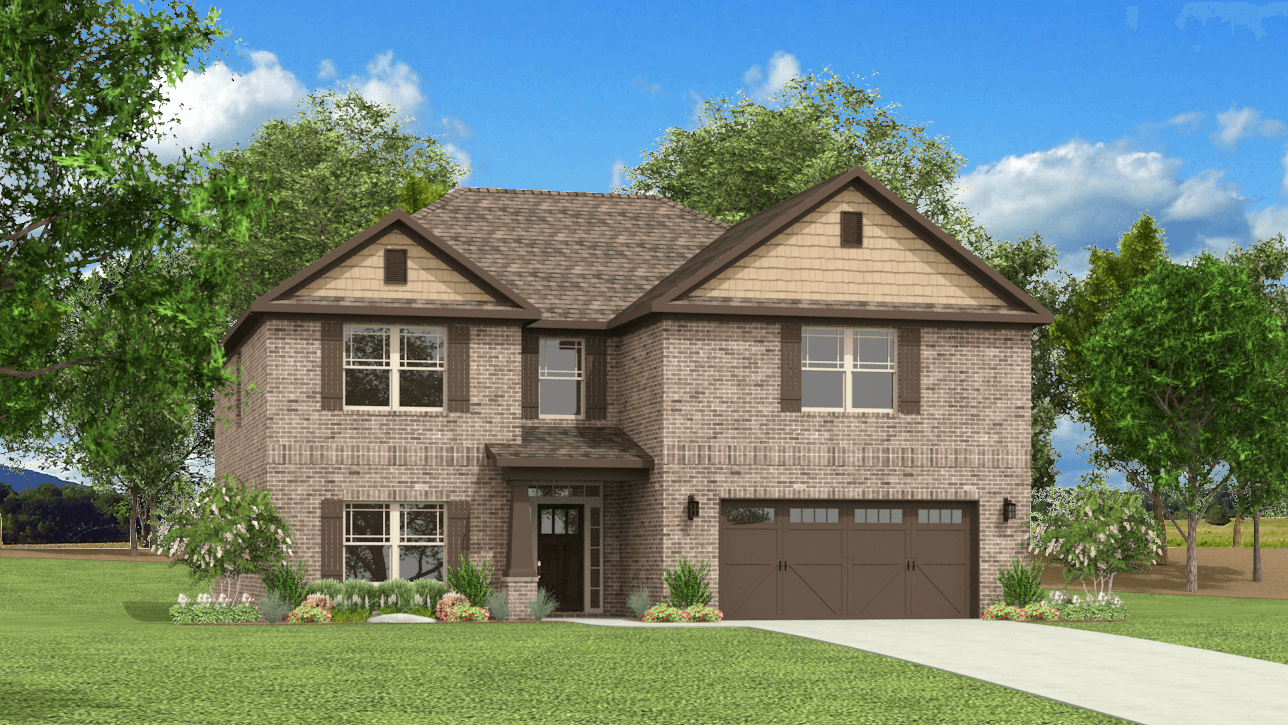 Single Family for Sale at Colonial Pointe - The Revere Ii 230 Balota St Meridianville, Alabama 35759 United States