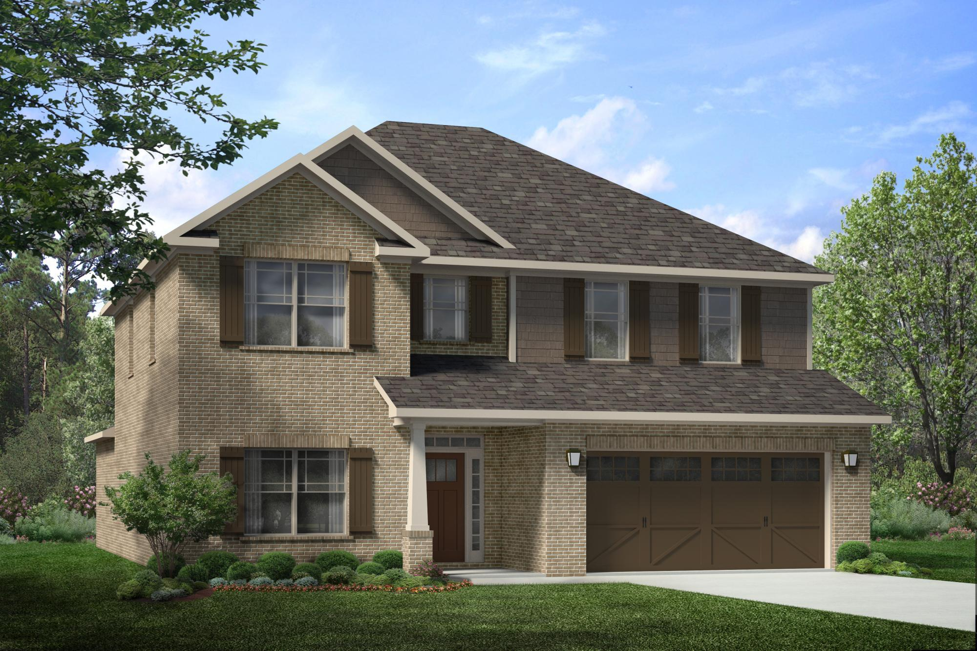 Single Family for Sale at Colonial Pointe - The Lincoln 230 Balota St Meridianville, Alabama 35759 United States