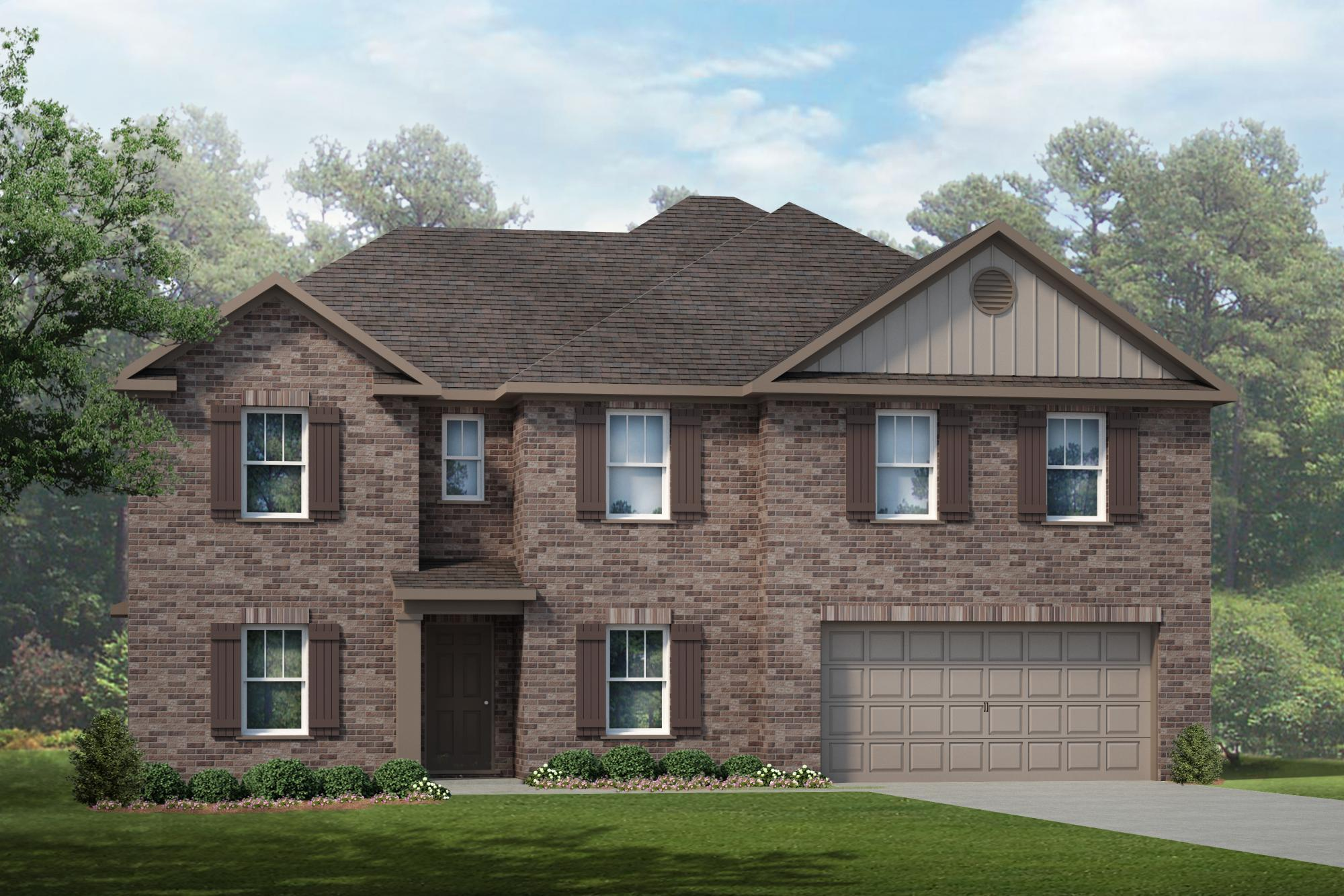 Single Family for Sale at Burwell Gardens - The Carrollton 240 Fenrose Drive Harvest, Alabama 35749 United States