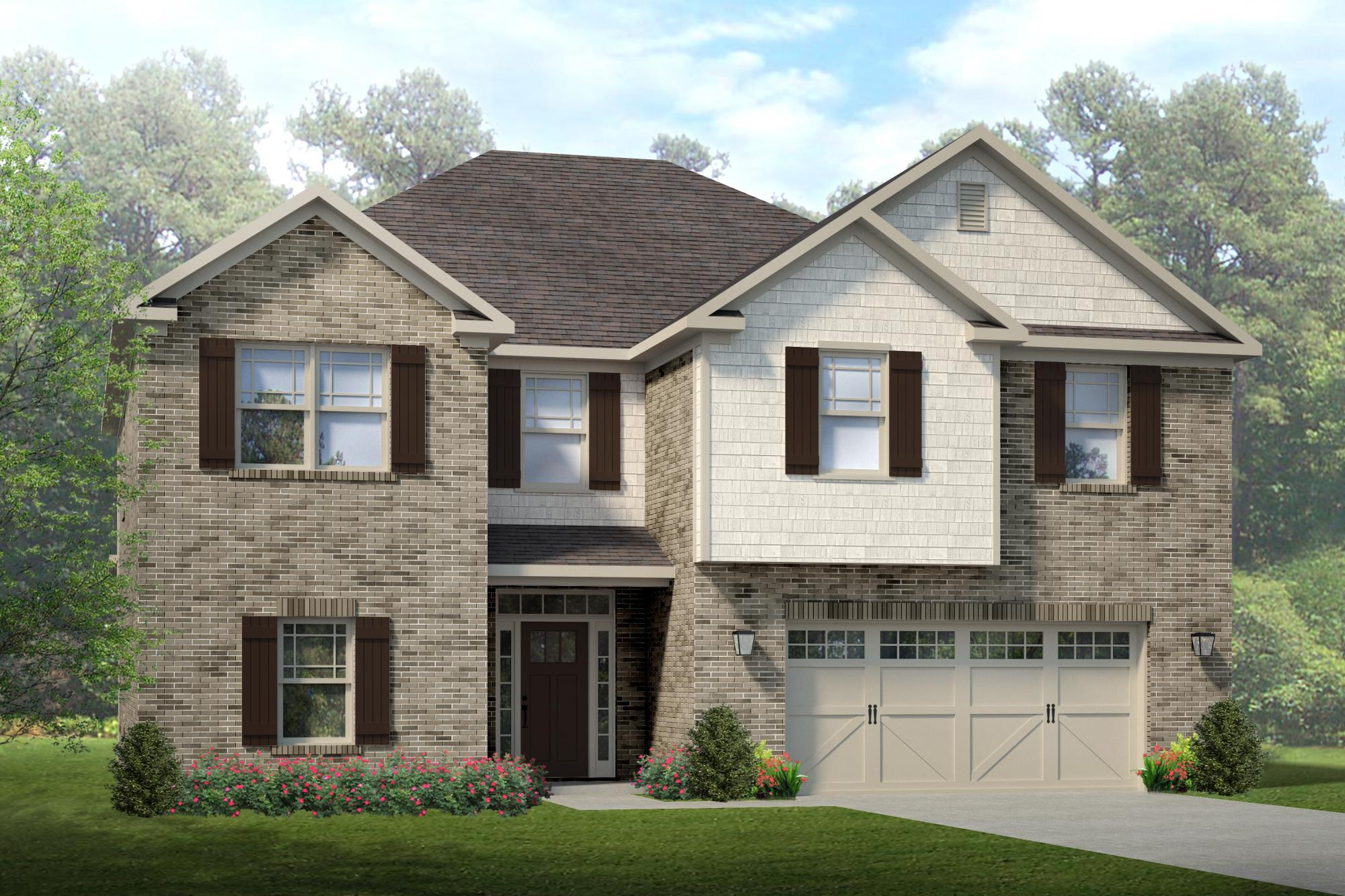 Single Family for Sale at Colonial Pointe - The Washington 230 Balota St Meridianville, Alabama 35759 United States