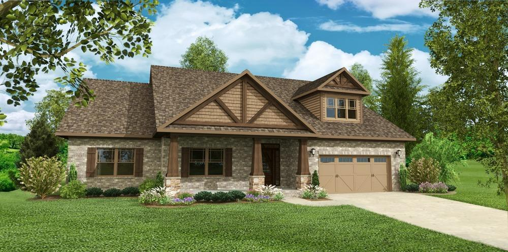Legacy homes heritage brook the franklin ii 1293774 for Home builders madison al
