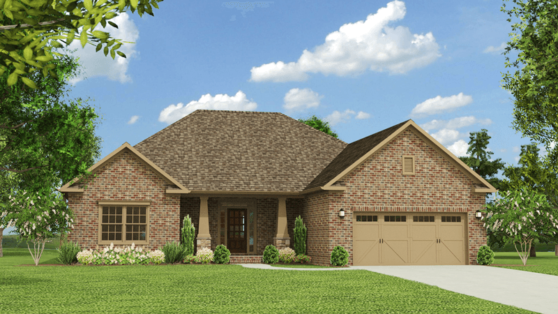 Single Family for Sale at Colonial Pointe - The Hamilton 230 Balota St Meridianville, Alabama 35759 United States