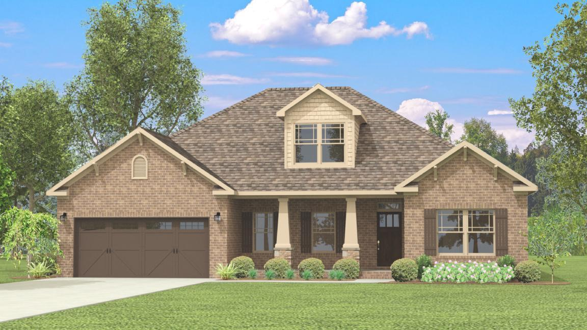 Single Family for Sale at Colonial Pointe - The Chesapeake Ii 230 Balota St Meridianville, Alabama 35759 United States