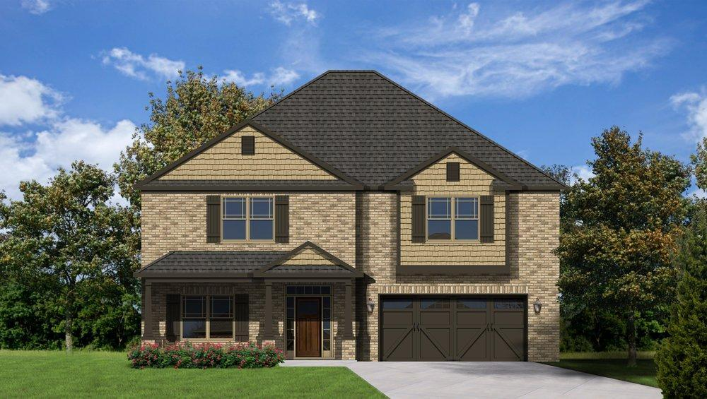 Single Family for Sale at Colonial Pointe - The Manhattan 230 Balota St Meridianville, Alabama 35759 United States