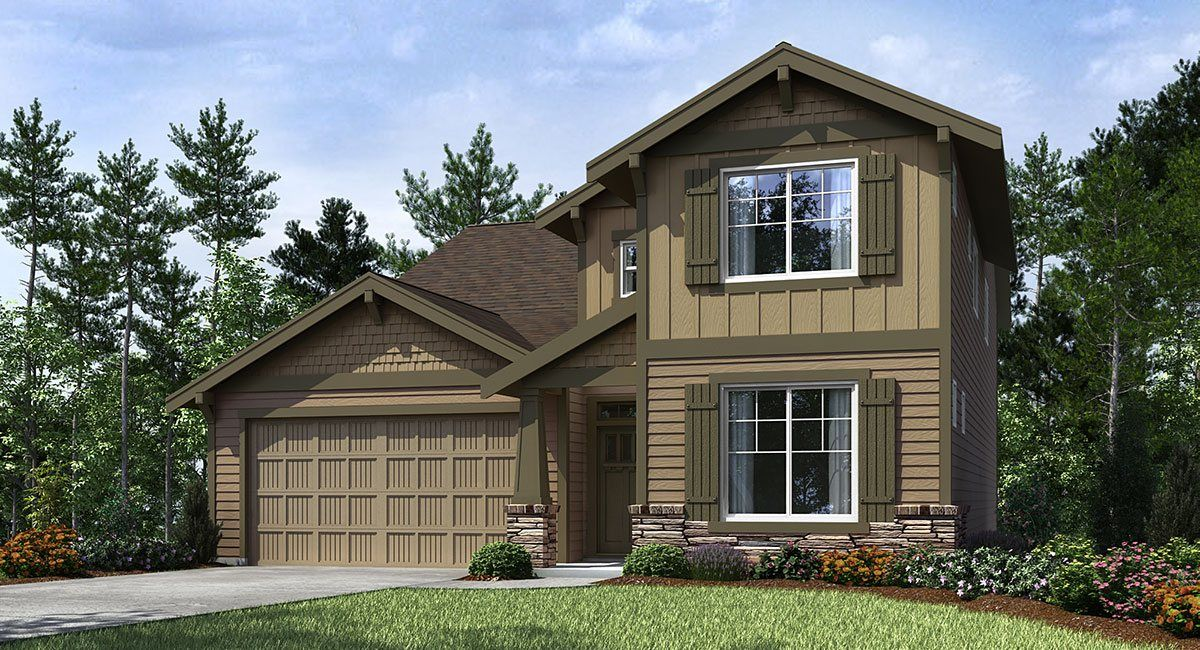 Single Family for Sale at Laurel Oaks - Marquam 5296 Se Lone Oak St Hillsboro, Oregon 97123 United States