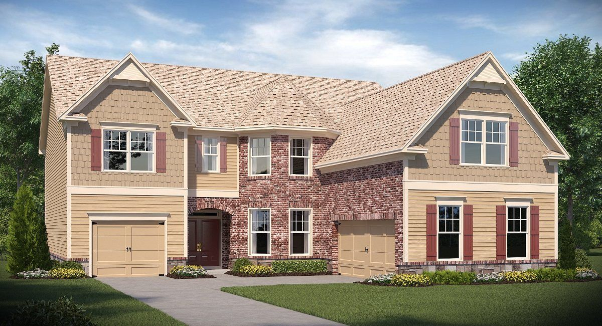 Lennar hickory manor camellia w basement 1292885 for Homes for sale in woodstock