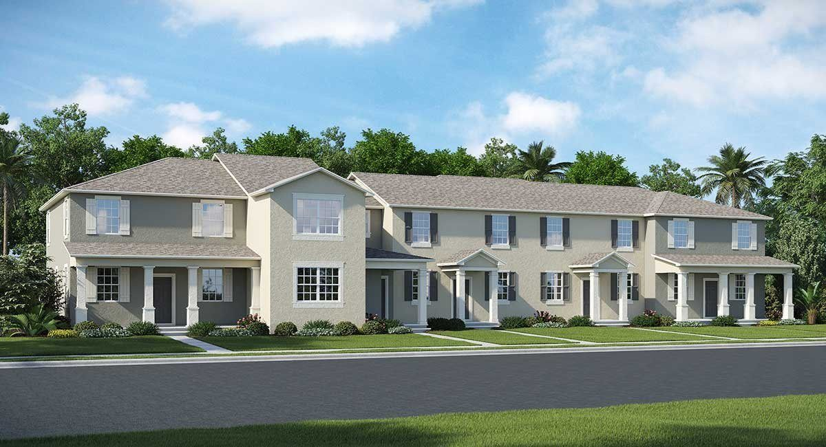 Independence Townhomes New Homes In Winter Garden Fl By Lennar