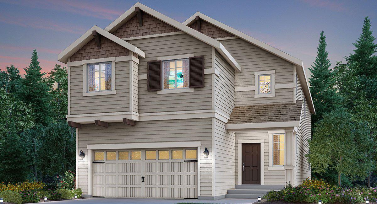 Single Family for Sale at Hawkesbury - Sequoia 27805 156th Ave Se Kent, Washington 98042 United States
