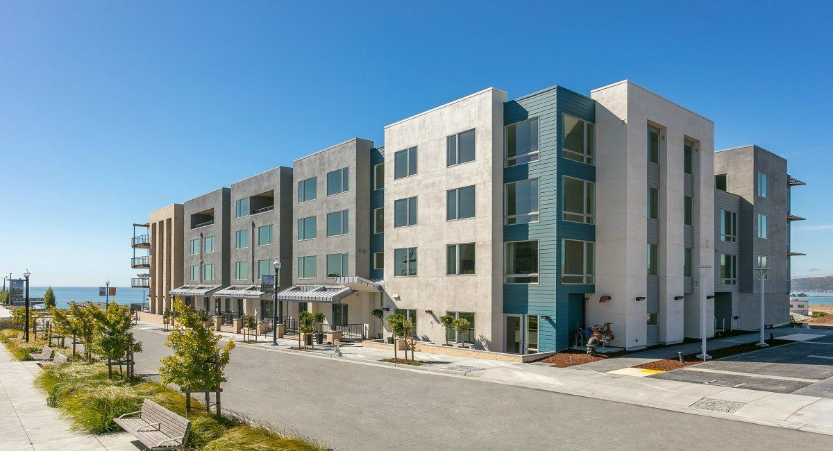 Multi Family for Sale at The San Francisco Shipyard : Monarch - 51 Innes Ct. #407 51 Innes Court San Francisco, California 94124 United States