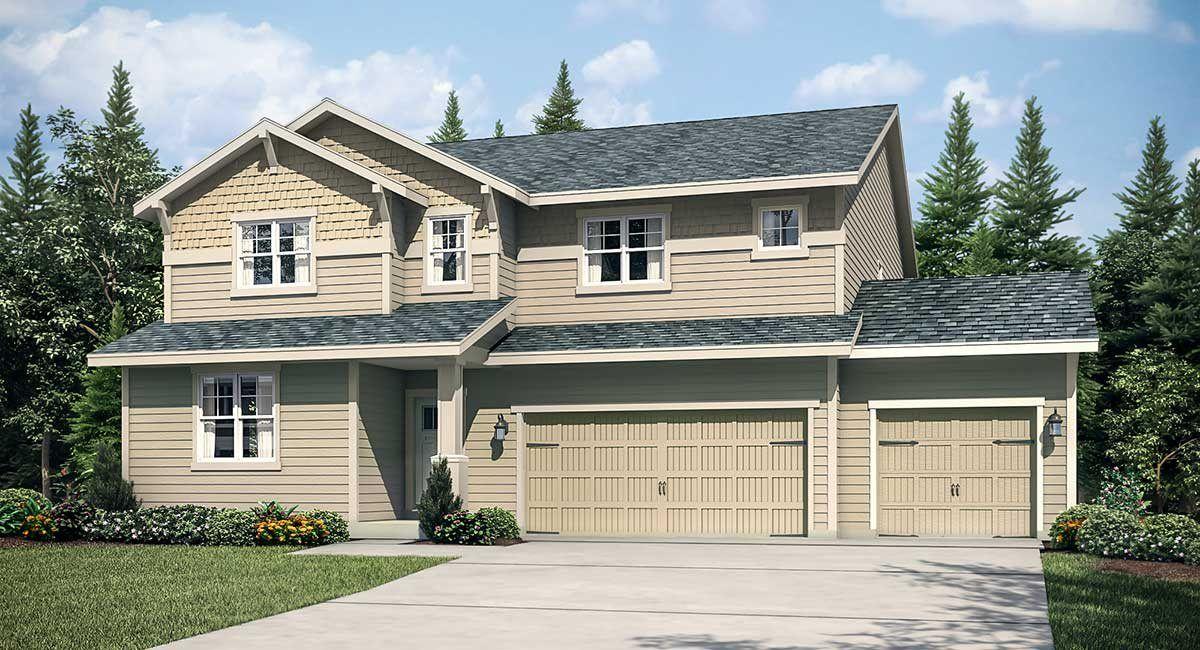Single Family for Sale at Semanski Farms - Carnation 3-Car Garage 801 Semanski St Enumclaw, Washington 98022 United States