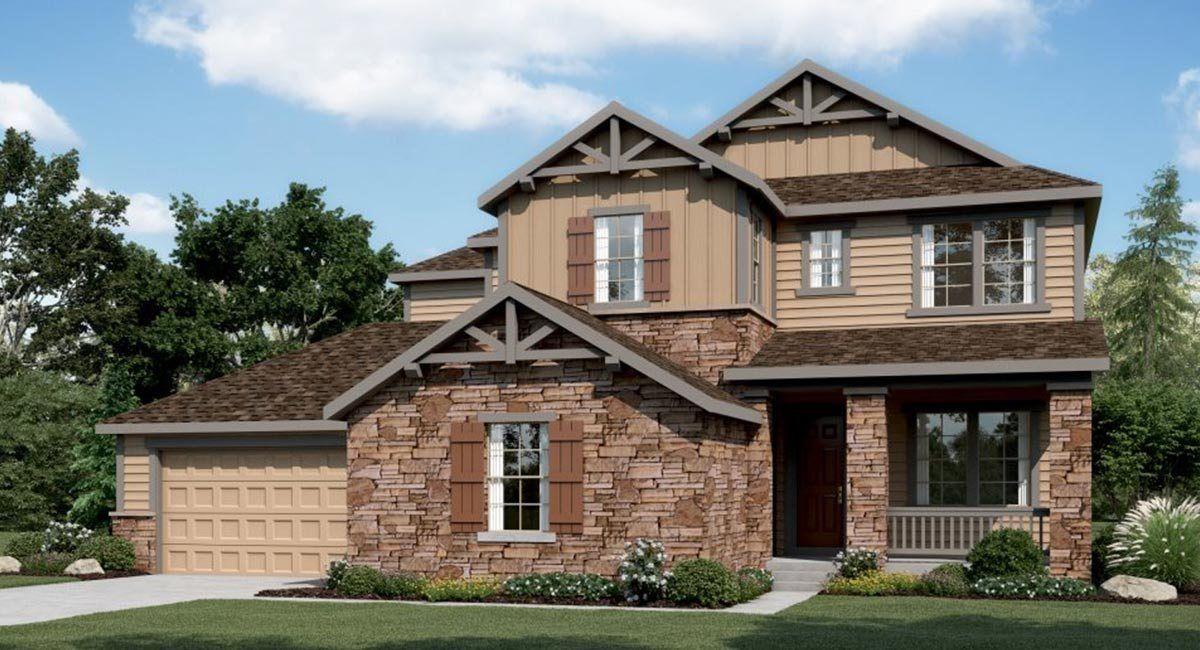 Single Family for Sale at Plan 6c01 16118 Humboldt Peak Drive Broomfield, Colorado 80023 United States