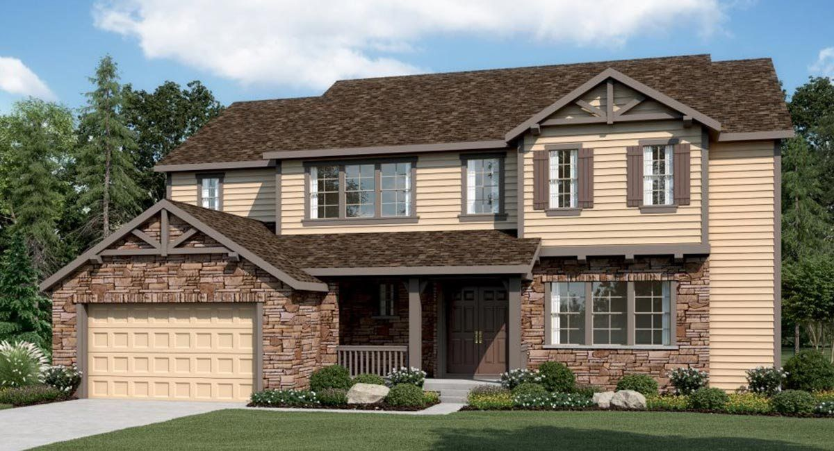 Single Family for Sale at Plan 6c04 16116 Swan Mountain Drive Broomfield, Colorado 80023 United States