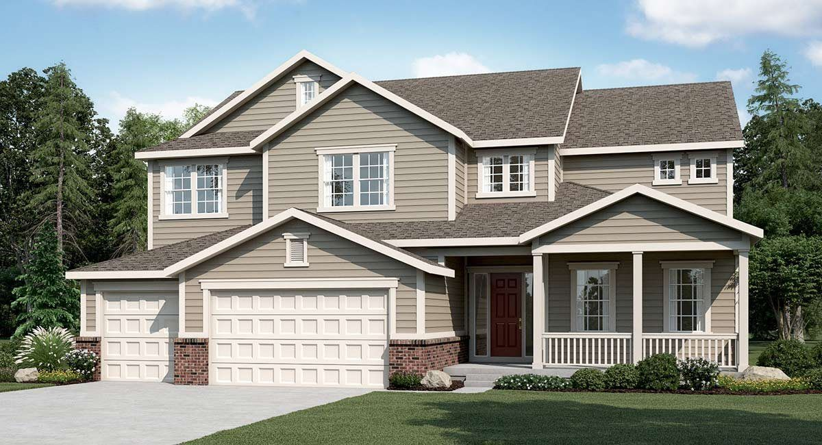 Single Family for Sale at Plan 6c05 3105 Blue Mountain Drive Broomfield, Colorado 80023 United States
