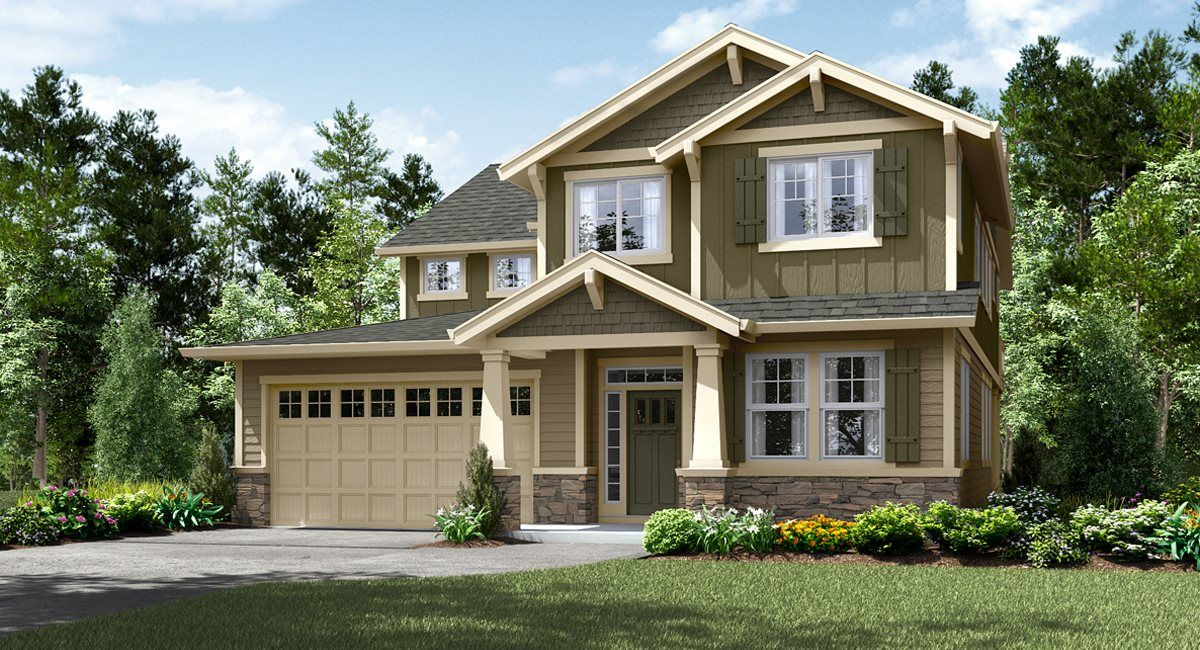Single Family for Active at Butternut Creek - The Cascade Collection - Sellwood Do Not Gps 5085 Se 82nd Ave Hillsboro, Oregon 97123 United States