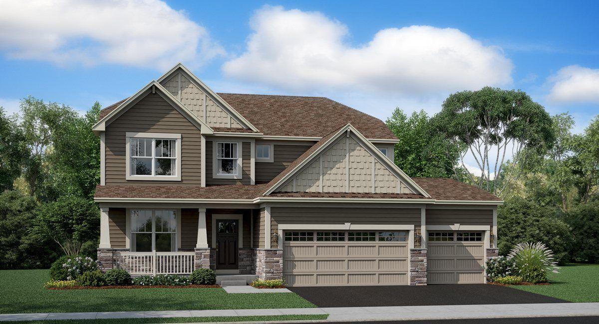 Single Family for Sale at Monet 1014 Purdue Plaza Crystal Lake, Illinois 60012 United States