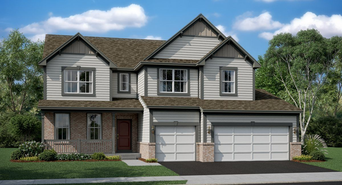 Single Family for Sale at Picasso 1008 Purdue Plaza Crystal Lake, Illinois 60012 United States