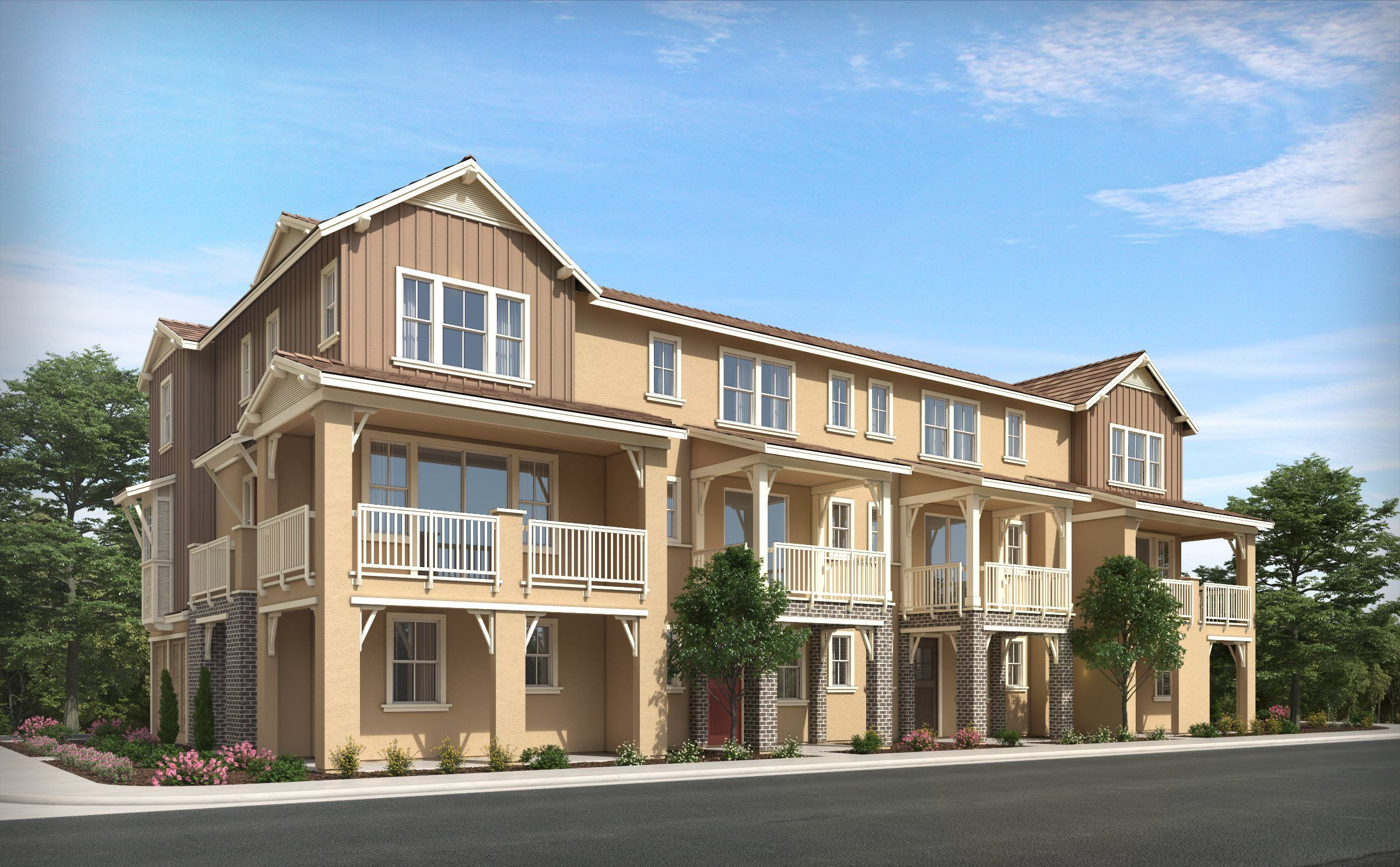 Multi Family for Active at Auburn Grove - Residence Two 202 Plum Street Livermore, California 94551 United States