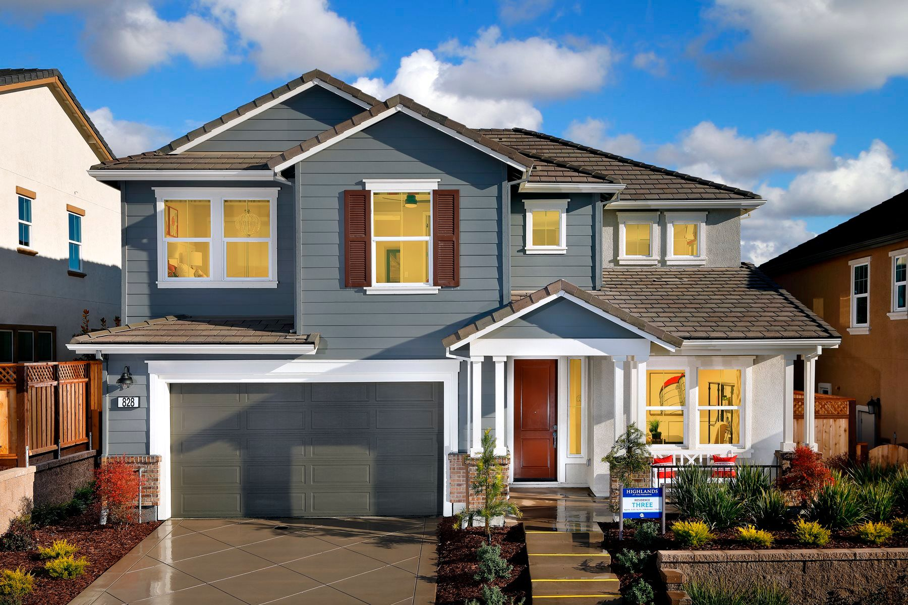 Single Family for Active at The Preserve - Highlands - Residence Three 5010 Faria Preserve Parkway San Ramon, California 94583 United States