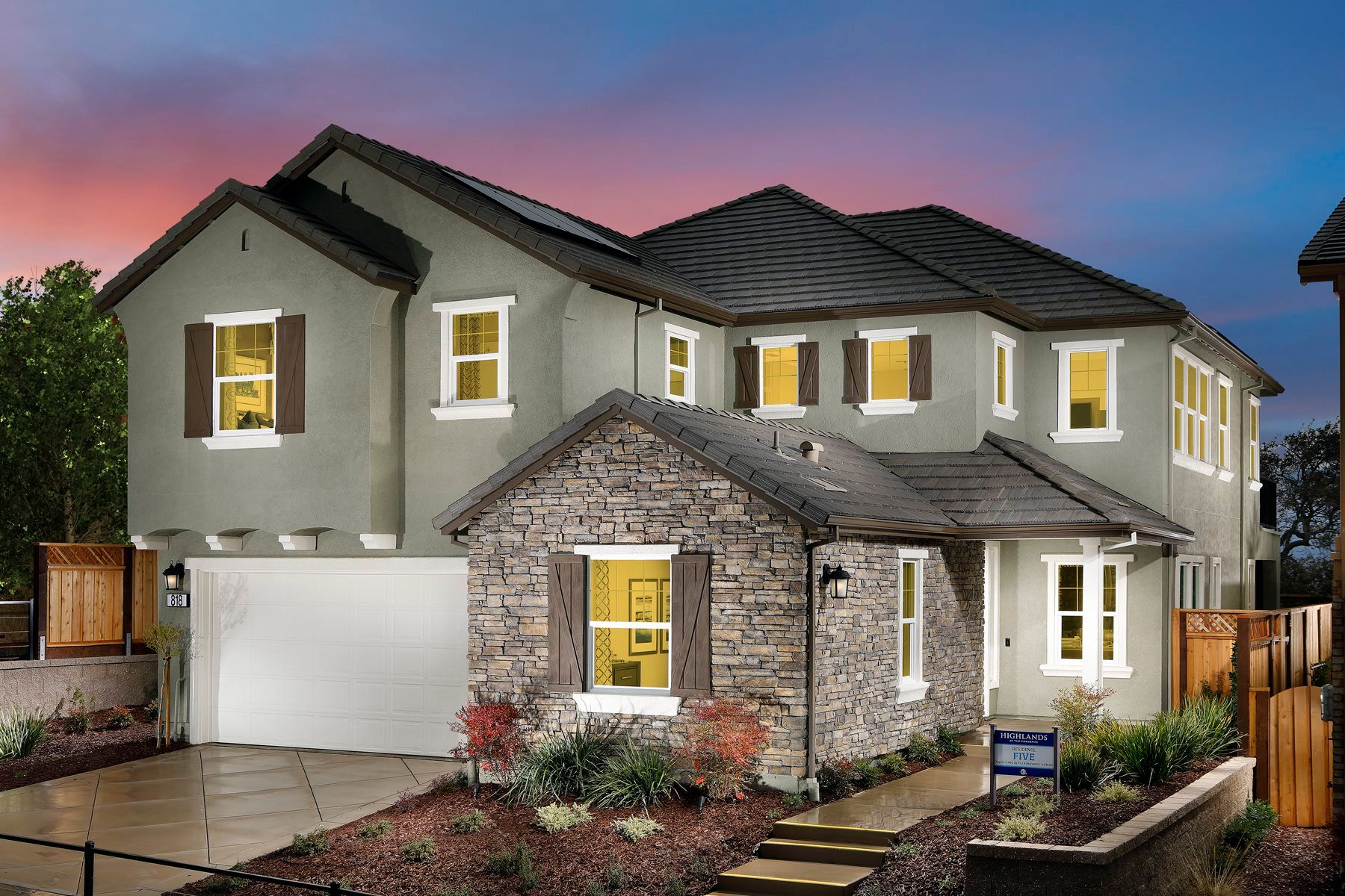 Single Family for Active at The Preserve - Highlands - Residence Five 5010 Faria Preserve Parkway San Ramon, California 94583 United States