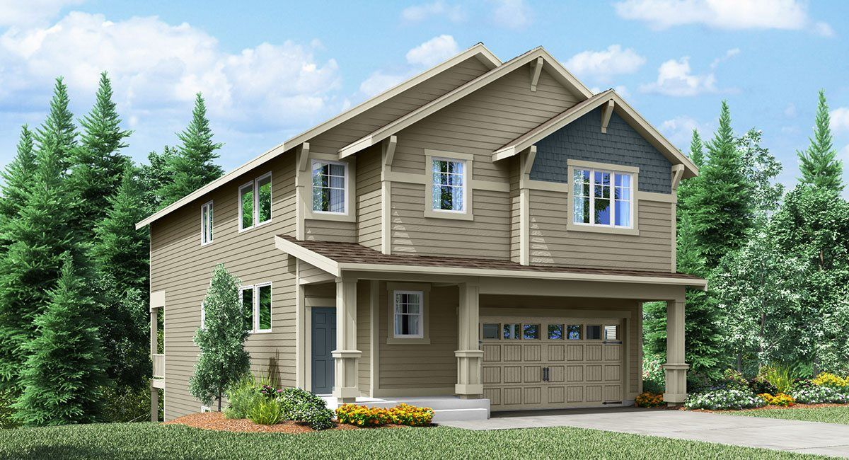 Single Family for Sale at Christy's Crossing - Columbia 37712 28th Avenue South Federal Way, Washington 98003 United States