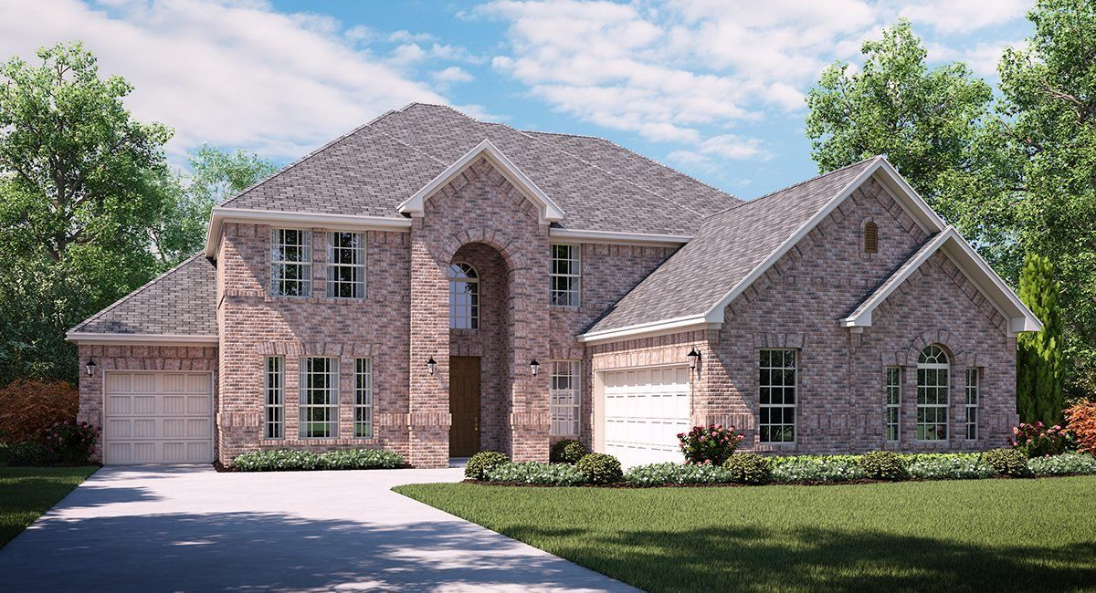 Unifamiliar por un Venta en Estates At Rockhill - St. Claire 166 Timber Creek Lane Little Elm, Texas 75068 United States