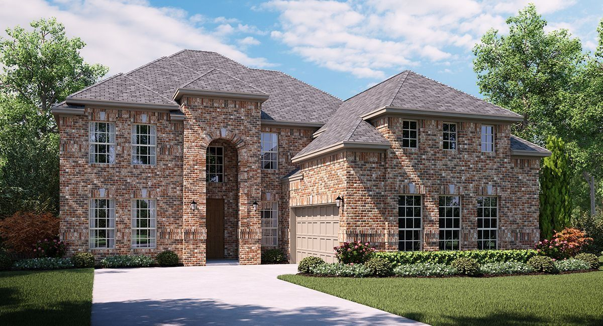 Unifamiliar por un Venta en Estates At Rockhill - Sedona 166 Timber Creek Lane Little Elm, Texas 75068 United States