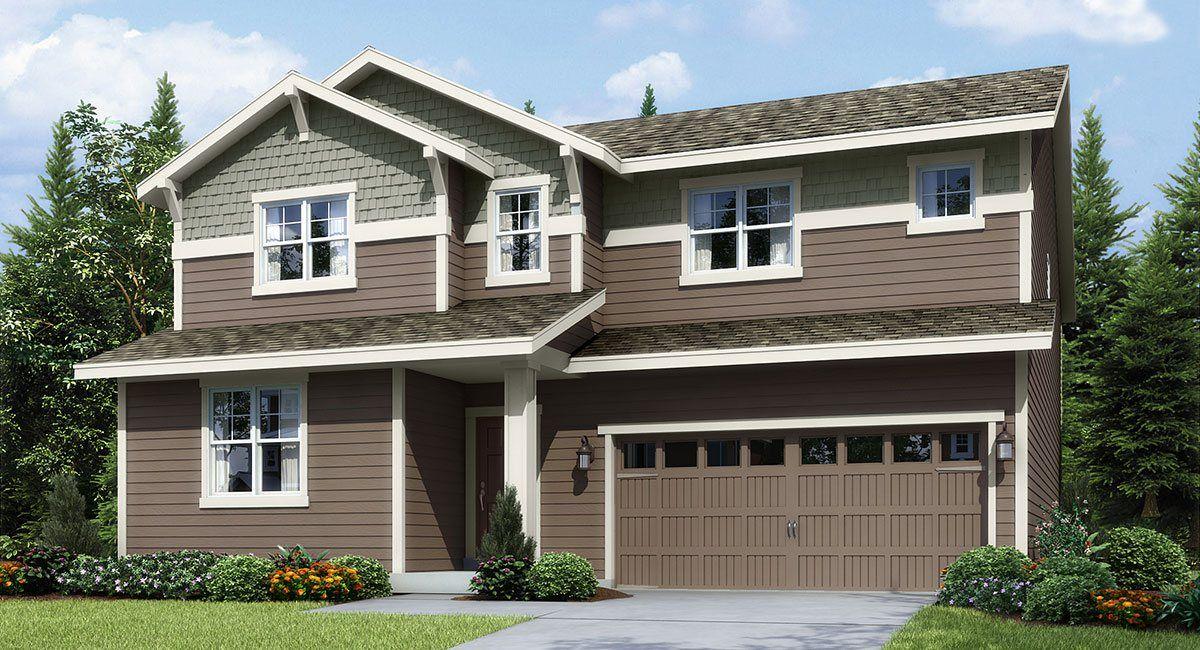 Single Family for Sale at Hawkesbury - Carnation 27805 156th Ave Se Kent, Washington 98042 United States