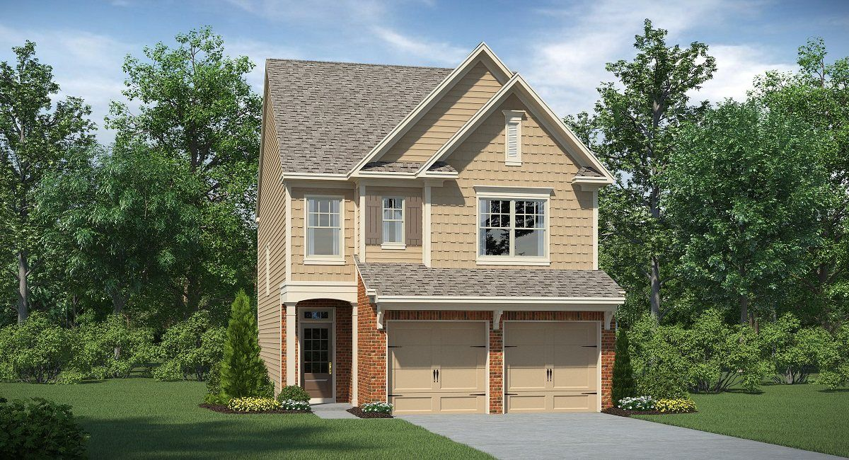 Single Family for Active at Mathis Place At Pembrooke - Chastain 3365 Baylor Circle McDonough, Georgia 30253 United States