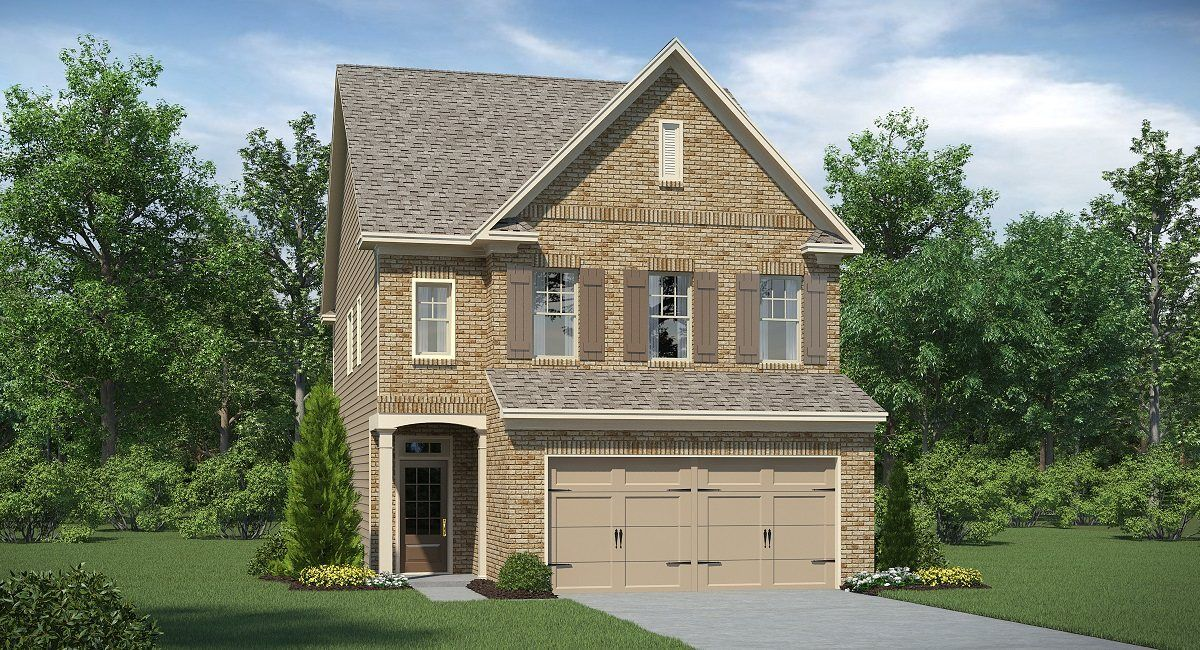 Single Family for Active at Mathis Place At Pembrooke - Oxford 3365 Baylor Circle McDonough, Georgia 30253 United States