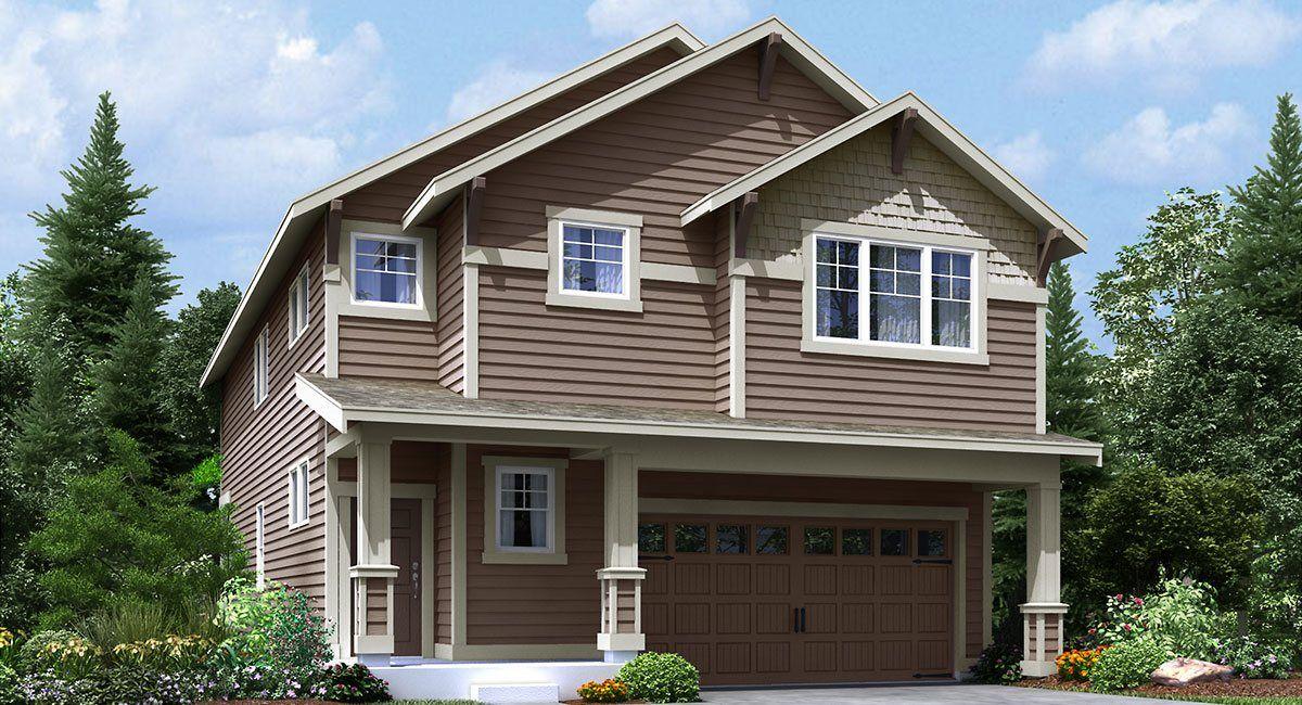Single Family for Sale at Hawkesbury - Magnolia 27805 156th Ave Se Kent, Washington 98042 United States