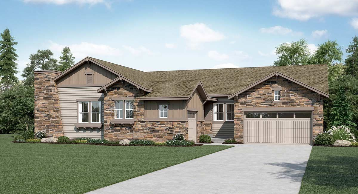 Single Family for Active at Somerset Meadows - The Seidler 2227 Sedgwick Court Longmont, Colorado 80503 United States