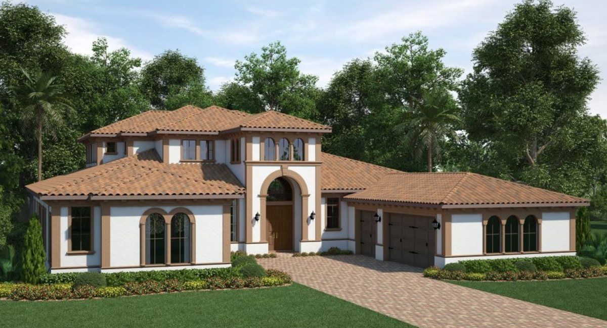 Single Family for Active at Waterside - Waterside The Strand - 7414a - Lucerne Ii 16899 Broadwater Ave Winter Garden, Florida 34787 United States