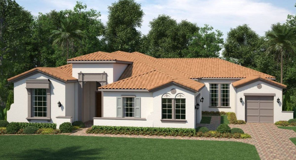 Single Family for Active at Waterside - Waterside The Strand - 7413a - Champlain Ii 16899 Broadwater Ave Winter Garden, Florida 34787 United States