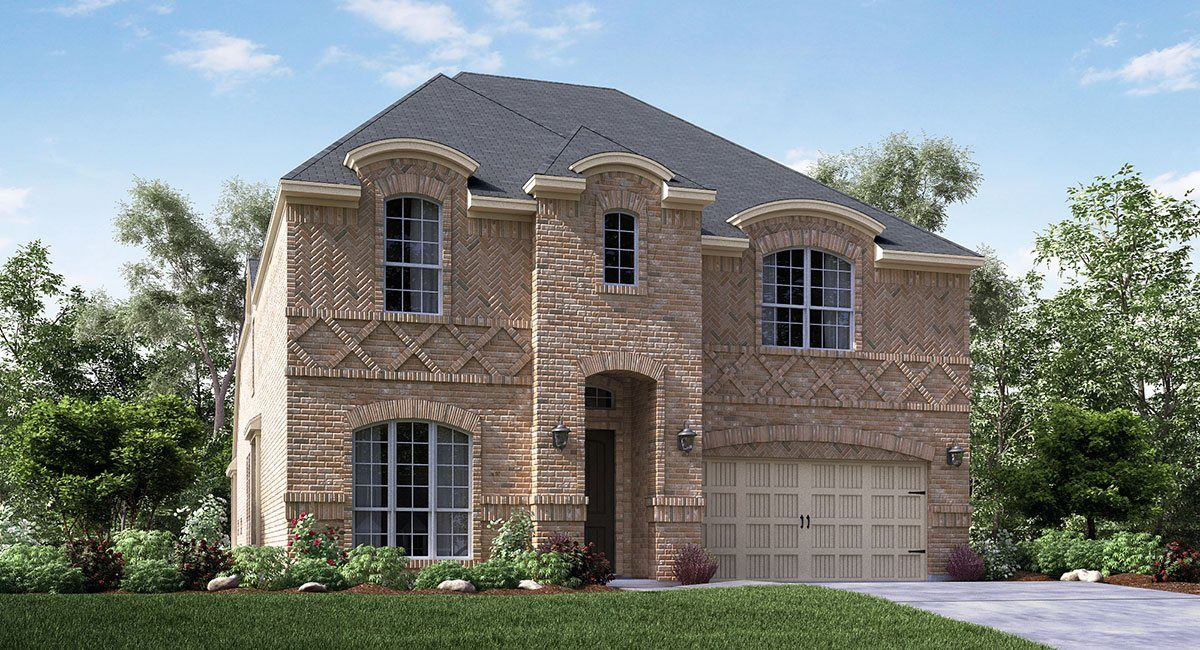 Single Family for Active at Estates At Bear Creek - Raphael 916 Red Maple Road Euless, Texas 76039 United States