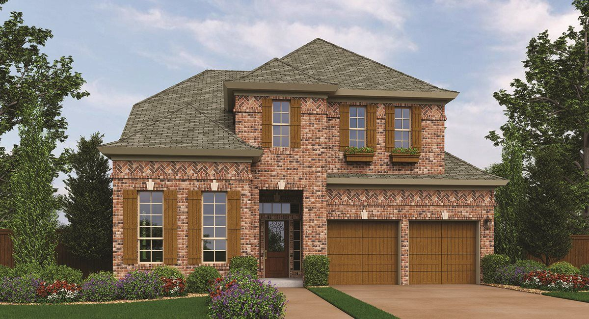 Single Family for Active at Westhaven 50' - Melrose 770 Wingate Rd Coppell, Texas 75019 United States