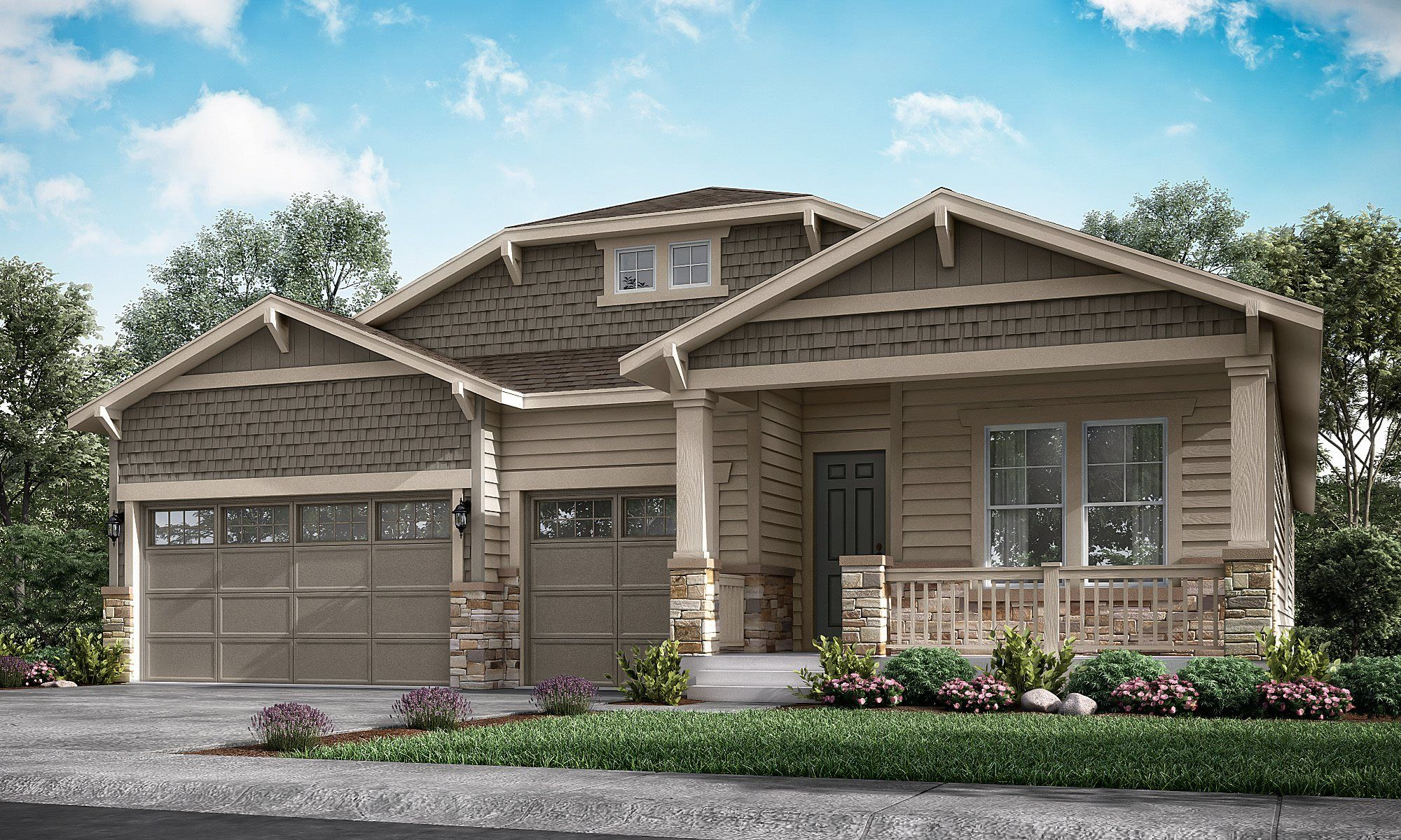 Single Family for Active at Heritage Todd Creek: The Heritage Collection - Gable 8052 E. 151st Place Thornton, Colorado 80602 United States