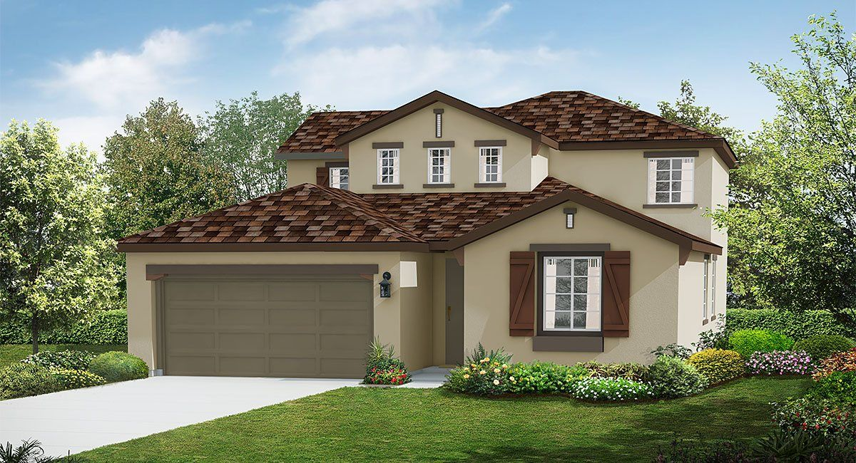 Single Family for Sale at Rosena Ranch - Aster - Residence Four 3573 Sugarberry Court San Bernardino, California 92407 United States