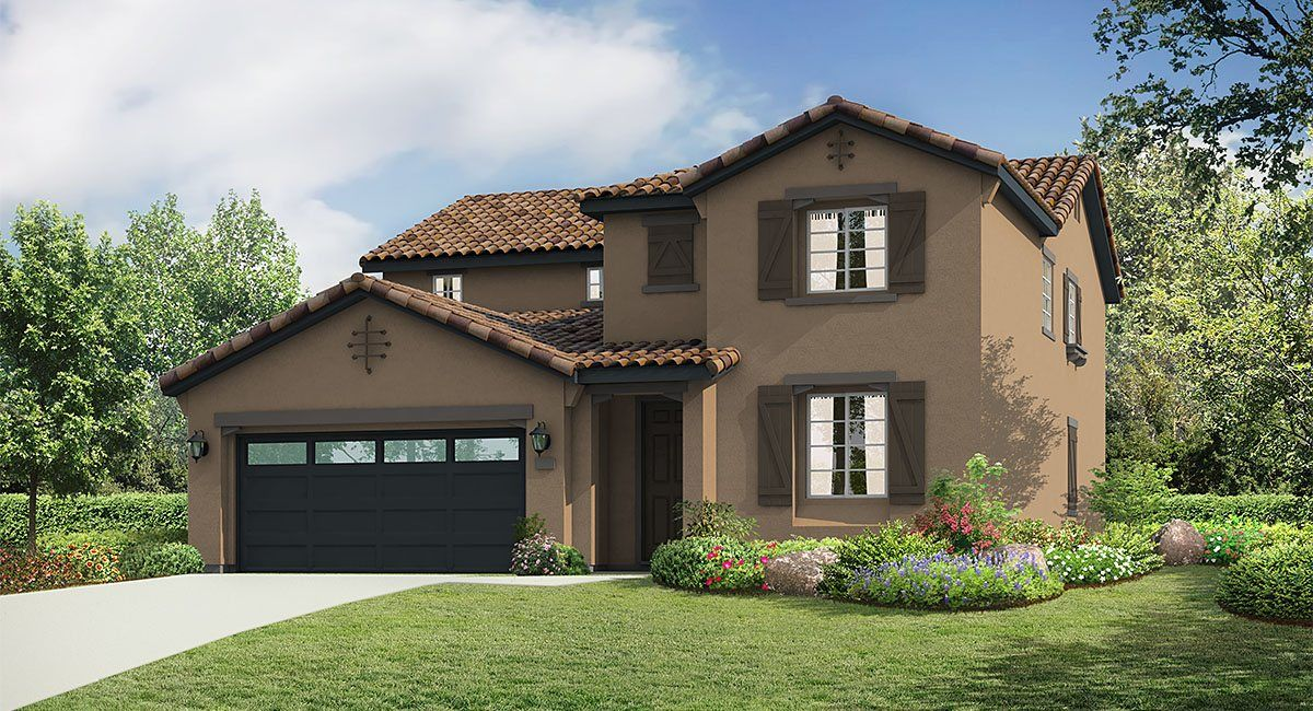 Single Family for Sale at Vista Paseo - Residence 3 7802 Wasabi Way Fontana, California 92336 United States