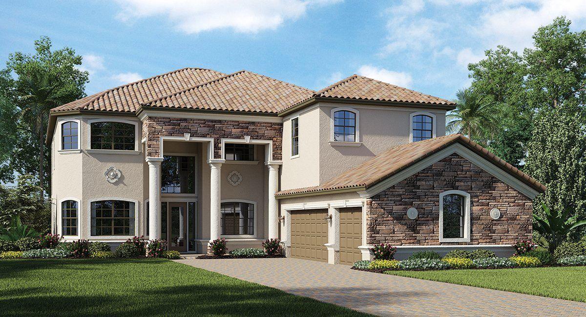 Single Family for Sale at Bonita National: Estate Homes - The Chapel Hill 18211 Bonita National Blvd Bonita Springs, Florida 34135 United States