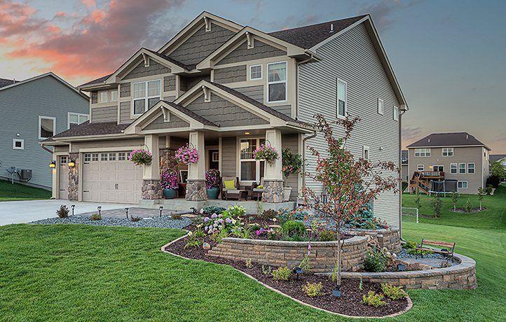 15851 creekside lane dayton mn new home for sale