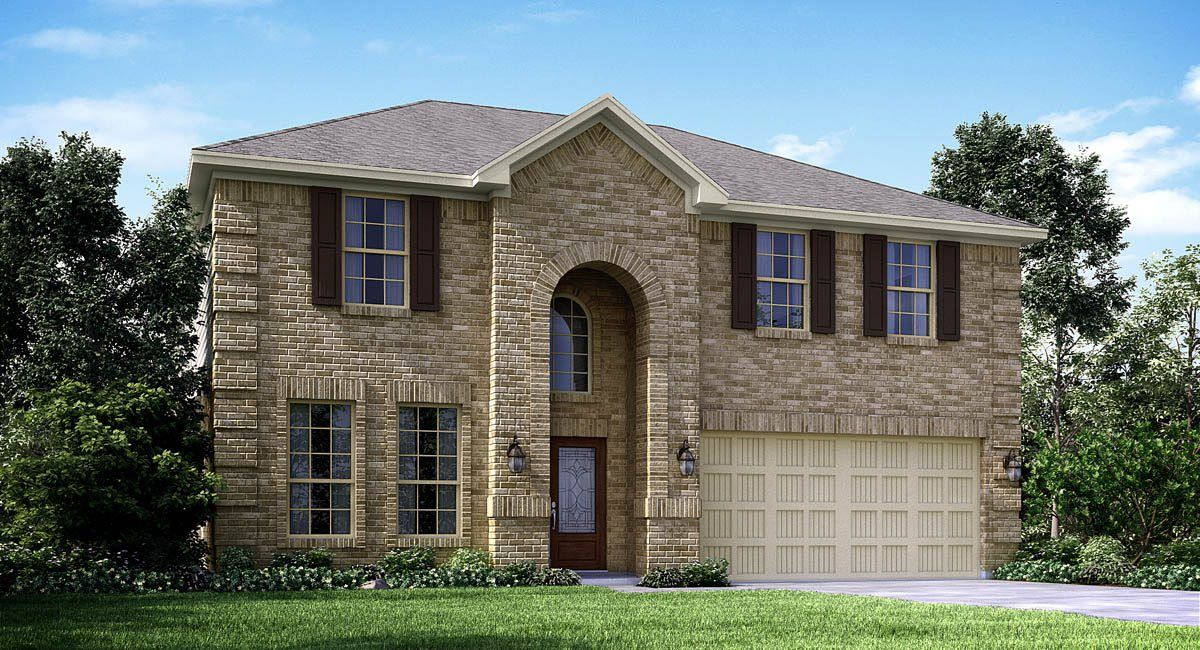 Single Family for Sale at Texas National-Brookstone And Wildflower Collections - Obsidian 12001 Mustang Avenue Willis, Texas 77378 United States
