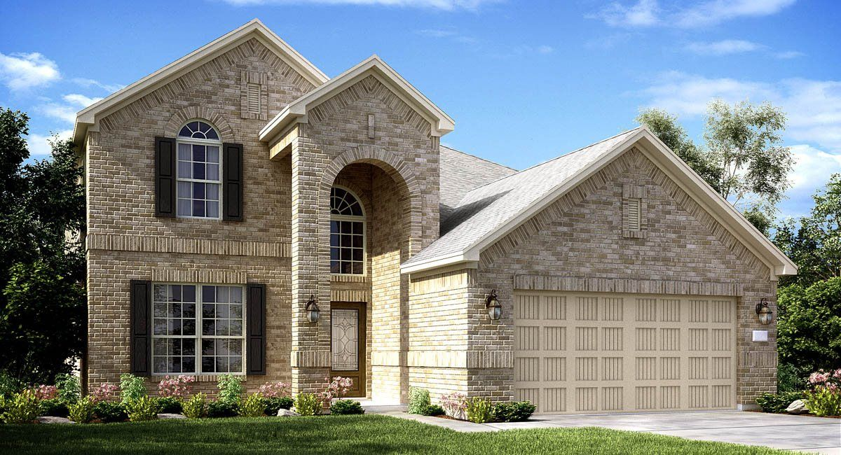 Single Family for Sale at Texas National-Brookstone And Wildflower Collections - Terrazzo 12001 Mustang Avenue Willis, Texas 77378 United States