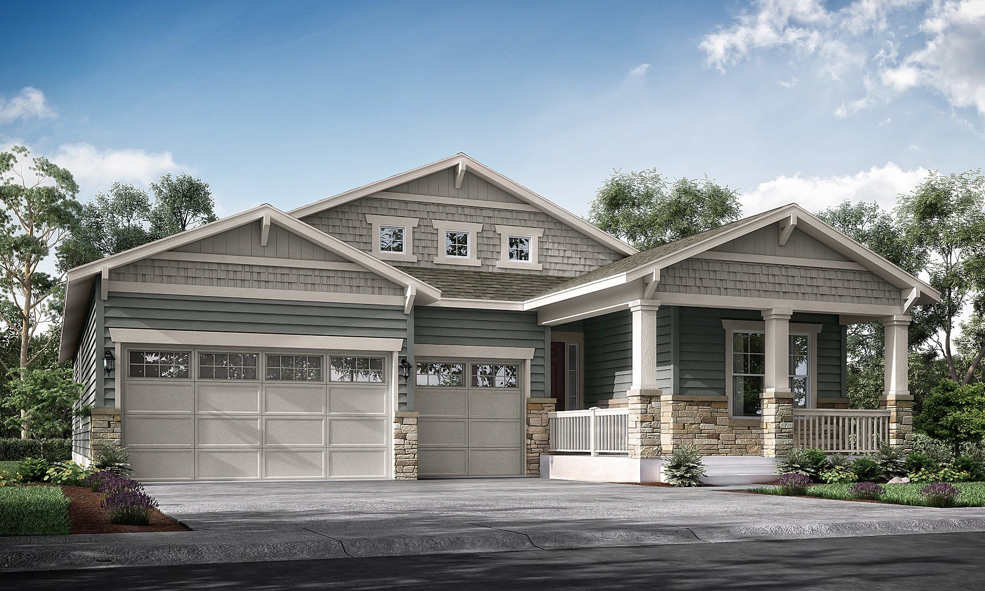 Single Family for Active at Heritage Todd Creek: The Heritage Collection - Redford 8052 E. 151st Place Thornton, Colorado 80602 United States